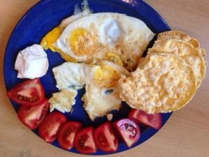 Eierfrühstück